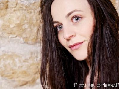 Portrait, beauté, femme, photographe, professionnel