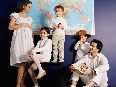 Portrait de famille - enthousiasme